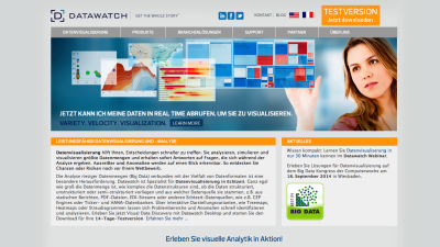 Best in Big Data 2014: Die besten Big-Data-Lösungen - Datawatch visualisiert auch komplexe Datenanalysen