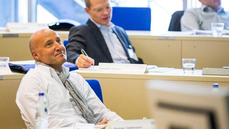 Rainer Göttmann, CEO von Metafinanz nutzt das Seminar, um seinen Horizont zu erweitern und sein Netzwerk zu vergrößern.