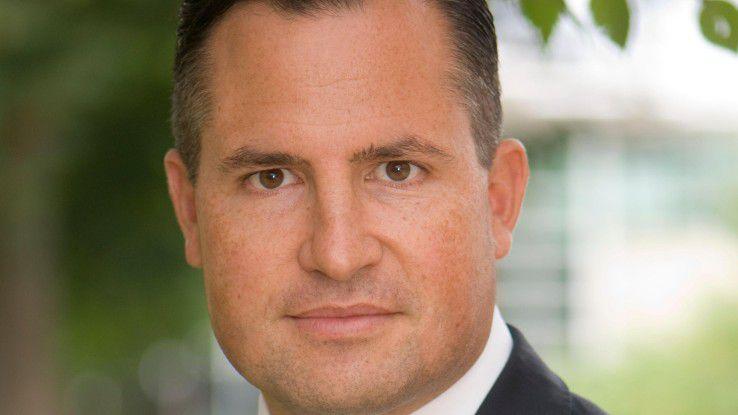 """Dirk Häußermann, Central-EMEA-Geschäftsführer: """"Bewegung motiviert die Mitarbeiter und macht sie produktiver."""""""