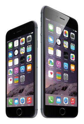 Auch Apple stellt sich nicht mehr gegen den Trend und bietet mit dem iPhone 6 Plus ein eigenes Phablet an.