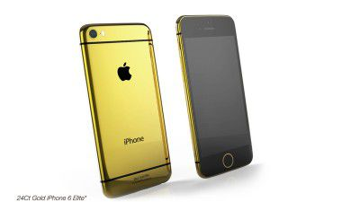 Pimp your iPhone 6: Das iPhone 6 in Gold - Foto: Goldgenie