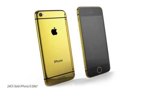 Gadget: Das iPhone 6 in Gold - Foto: Goldgenie