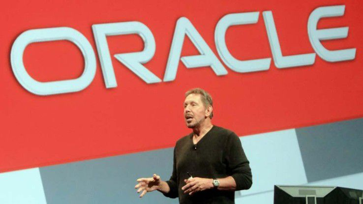 Gründer und Executive (!) Chairman Larry Ellison, Oracle OpenWorld 2014, San Francisco