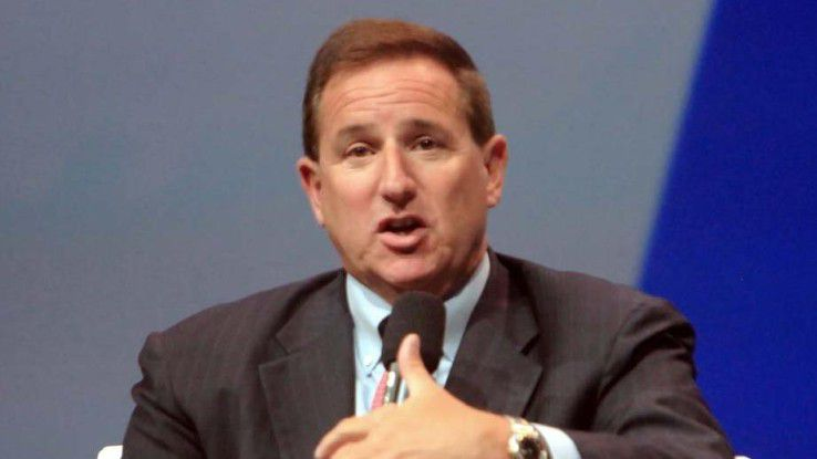 Mark Hurd, CEO von Oracle: Unternehmen streben eine Konsolidierung ihrer Cloud-Installationen an.
