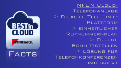 Best in Cloud 2014 – Nfon: Cloud is Calling - Nfon-Telefonanlage im Einzelhandel