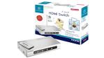 HDMI-Umschalter: Sitecom KV-020 HDMI-Switch mit 4 Eingängen - Foto: Sitecom