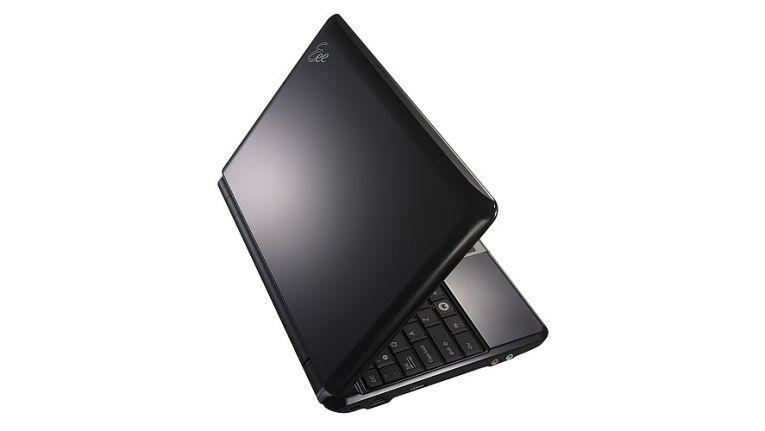 Der Asus Eee PC 1000H ist in schwarzem oder weißem Gehäuse erhältlich