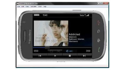 Blackberry Device Simulator: Blackberry Storm zum Ausprobieren