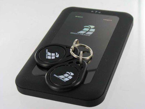 Gesperrt: Digittrade RFID Security Festplatte