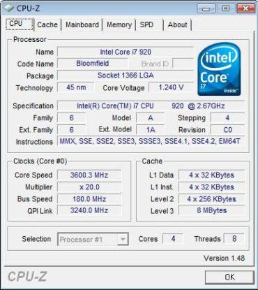 CPU: Der Intel Core i7 920