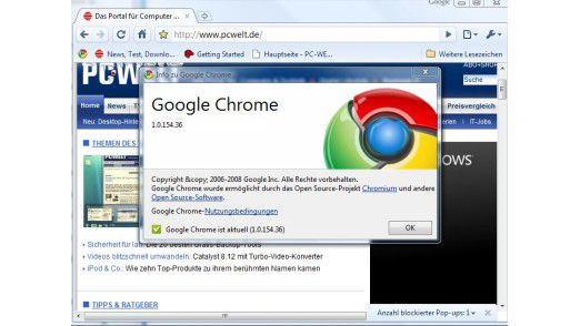 Knapp drei Monate nach seinem Start ist Google Chrome in einer ersten finalen Version erschienen.