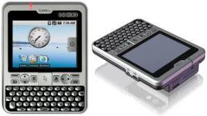 Smartphone im Taschenrechner-Design: Compulab Exeda.