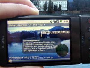 TU Graz eröffnet Labor für erweiterte Realität auf dem Handy.