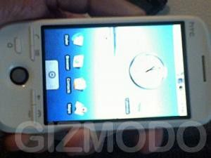 Tastaturloses Android-Handy - HTC G2?
