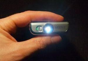 W7900: Projektor-Handy von Samsung.