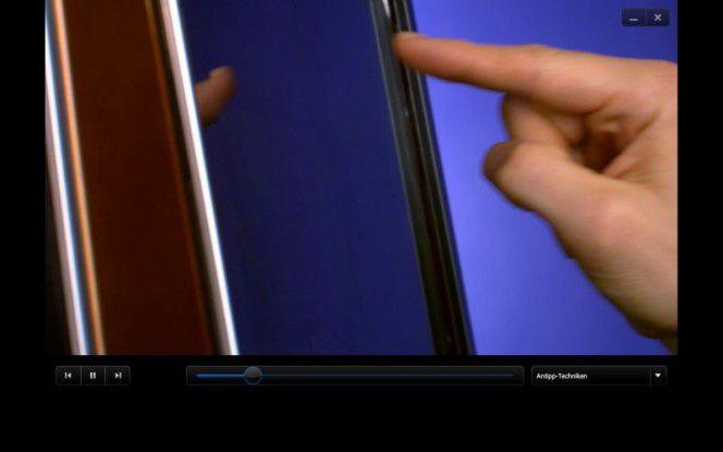 Touchsreen bei einem Touchsmart-PC von HP