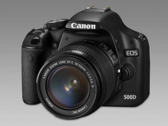Canon EOS 500D: DSLR für Semiprofis
