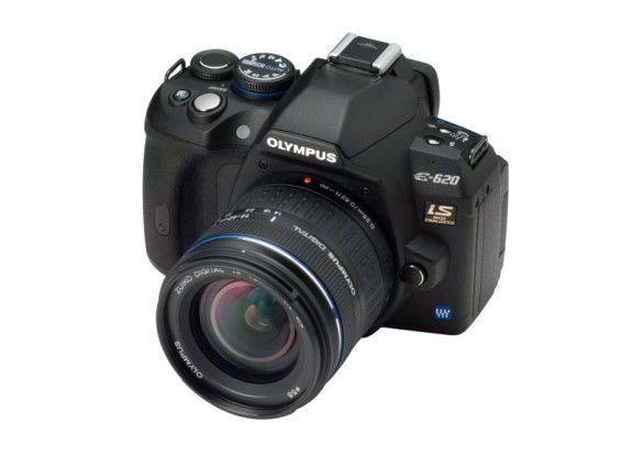 Olympus E-620: Eine besonders kompakte DSLR