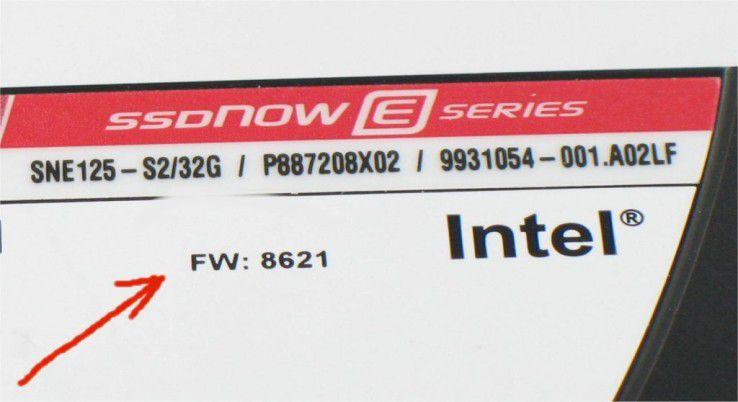 Firmware-Version der Kingston SSD Now E-Series SNE125-S2 32GB