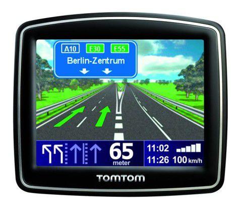 Das Tomtom One IQ Routes brücksichtigt Tag und Uhrzeit.