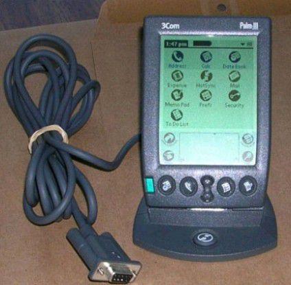 Noch heute für viele ein Synonym für den PDA schlechthin: Der Palm III