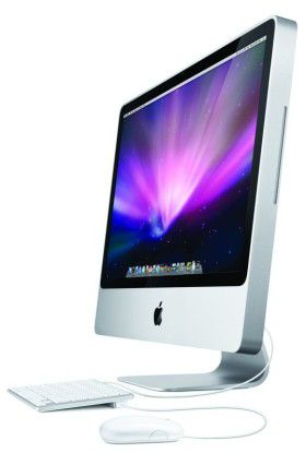 Display des Apple iMac 24 Zoll
