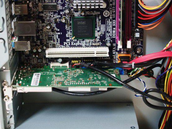 Die DVBT-Karte im Arlt Individual PC Intel Atom 230