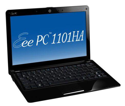 Netbook mit 11,6-Zoll-Display im Test: Asus Eee PC 1101HA.