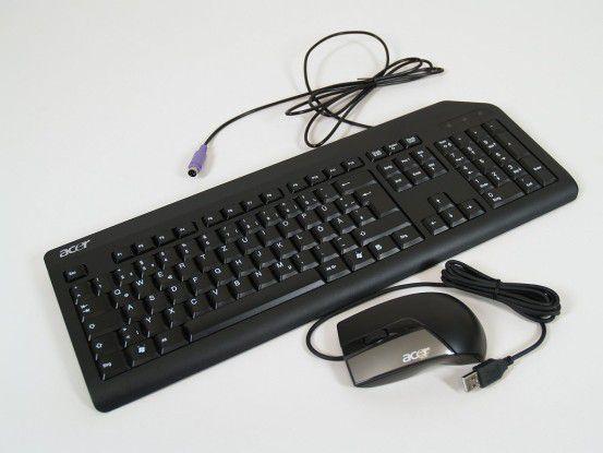 Inklusive: Maus und Tastatur des Acer Veriton N260G