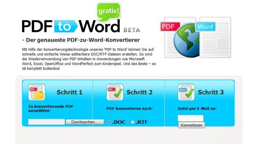 PDF to Word free
