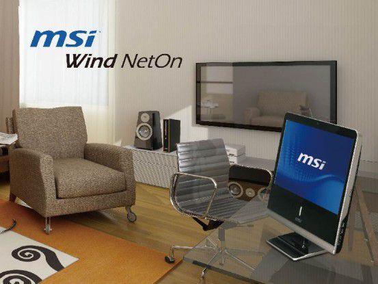 MSI Wind Neton AP1900 im alltäglichen Einsatz
