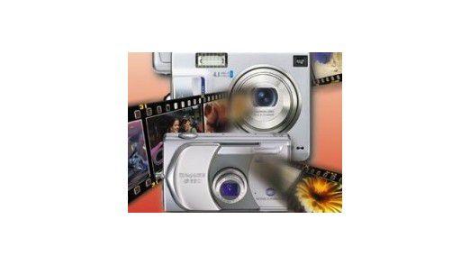 Die leichtesten Digitalkameras im Test.