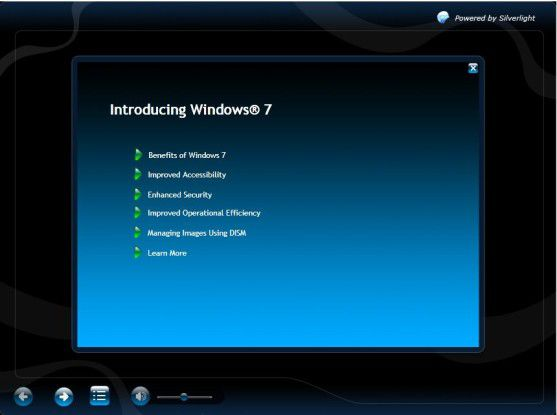 12 Lern-Videos für Windows 7 von Microsoft.