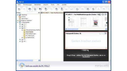 Mit Gratis-Tools PDFs erstellen.