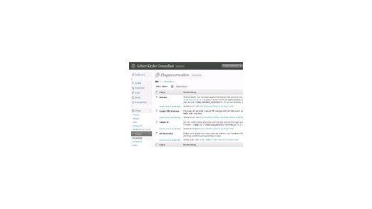 Die besten Plugins für Wordpress.