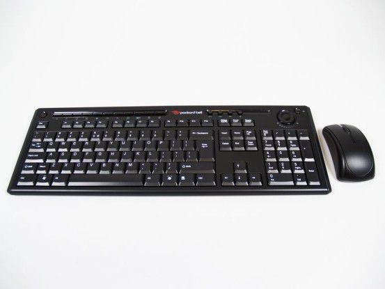 Packard Bell Onetwo L: Funktastatur und -maus