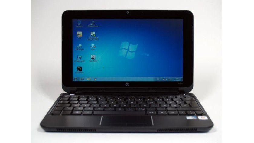 Günstiges Netbook mit Windows 7: HP Mini 210 im Test.