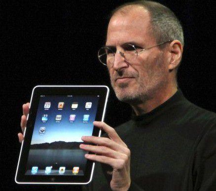 Seine letzte große Revolution: Jobs mit dem iPad