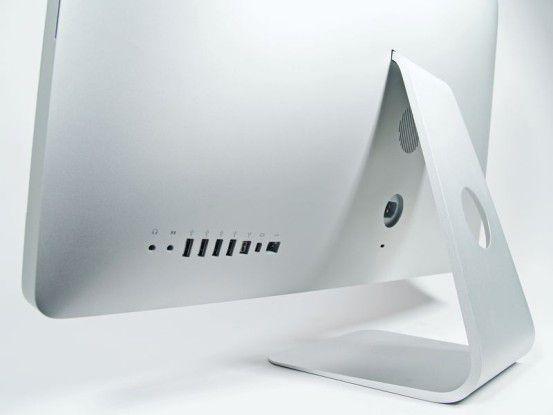 nur wenige Schnittstellen beim iMac