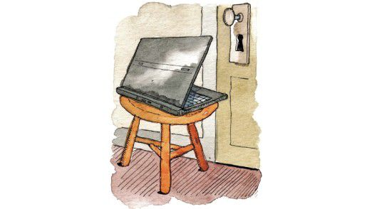 Webcam-Spionage Illustration: Barry Blitt