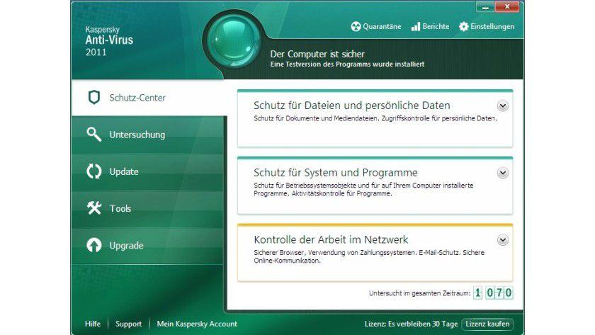 Neu: Kaspersky Internet Security 2011.