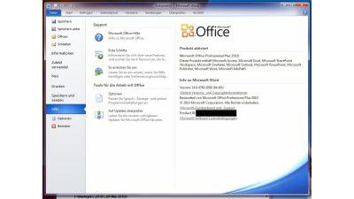 Screenshots: Office 2010 - Mega-Galerie