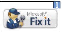 Microsofts Fix-it-Tools helfen bei zahlreichen Problemen