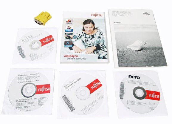 Bildschirm-Adapter und Software zum Fujitsu Esprimo Q1500