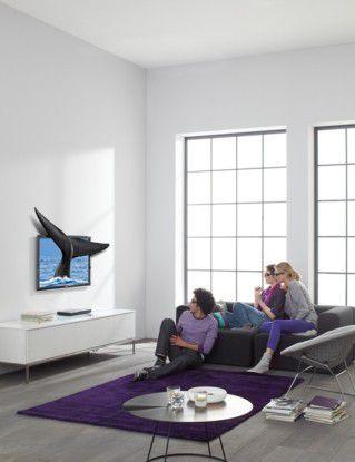 Wal im Wohnzimmer: Hersteller werben mit intensiverem TV-Erlebnis. (Foto: Samsung)