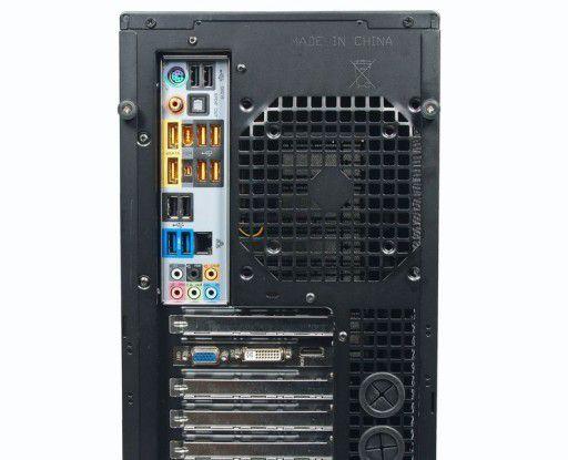 viele Schnittstellen beim Neobuy PC AMD Phenom II X6 1055T Deluxe