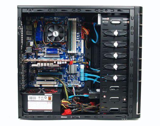 Neobuy PC AMD Phenom II X6 1055T Deluxe: genügend Platz für spätere Aufrüstung