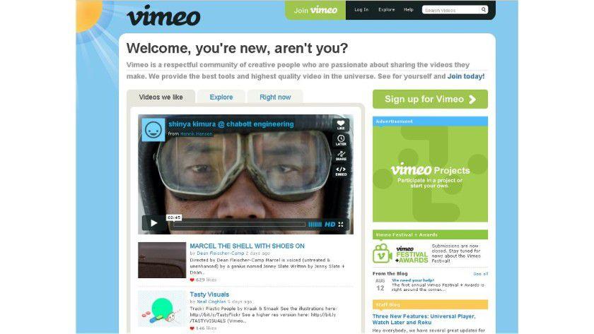 Videoinhalte: Die Plattform Vimeo bietet bewegte Bilder nun auch in HTML5.