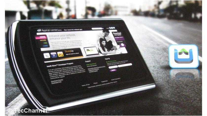AppUp: Intels eigene Version eines App-Shops bietet für Netbooks und Tablets angepasste Programme an.