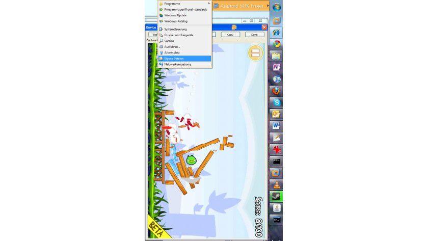 Einheit: Mit Unity kann das Host-System auf die in den Gast-VMs installierten Programme zugreifen.
